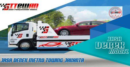 Jasa Derek Metro Towing Jakarta