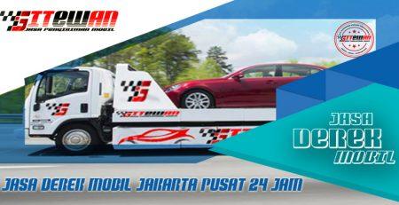 Jasa Derek Mobil Jakarta Pusat 24 Jam