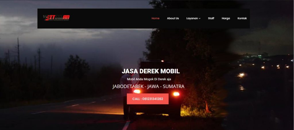 Jasa Derek Mobil Banjarmasin -